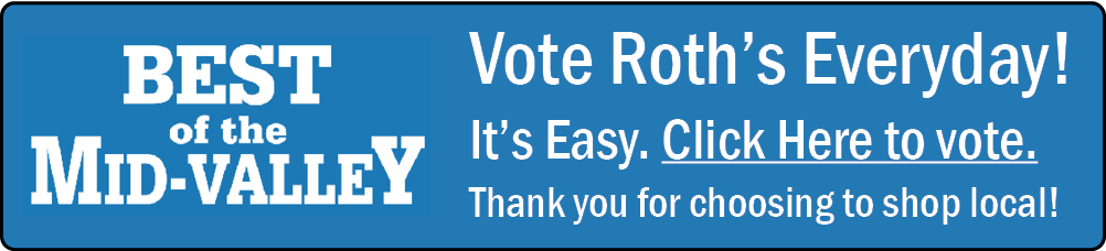 Vote for Roth's!